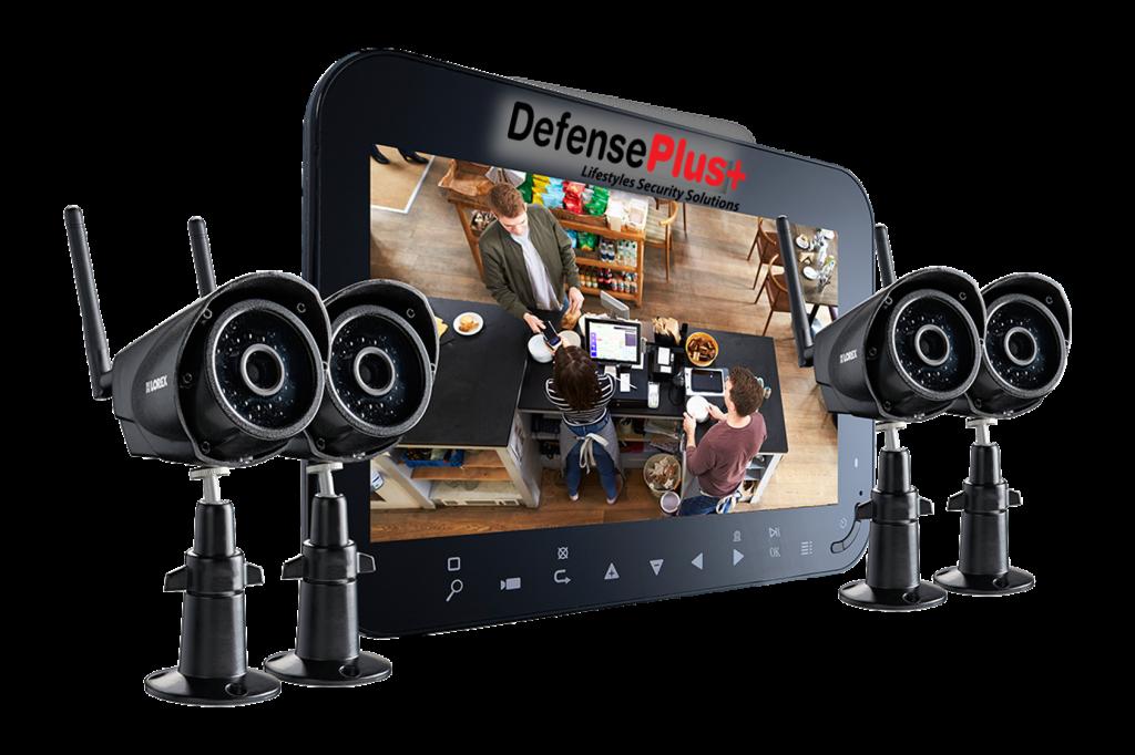 Wireless IP Cameras - Defense Plus USA